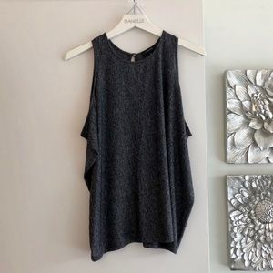 BABATON (ARITZIA) Grey Sleeveless Blouse